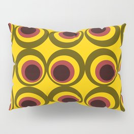Psychedelic yellow Pillow Sham