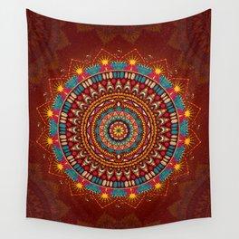Crystalline Harmonics - Tribal Wall Tapestry