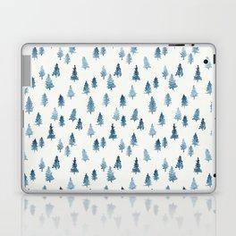 Watercolor Trees Laptop & iPad Skin