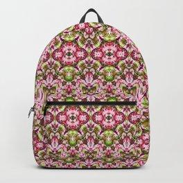 Delicate Floral Stripes Backpack