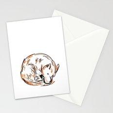 Tero Sleeping I Stationery Cards