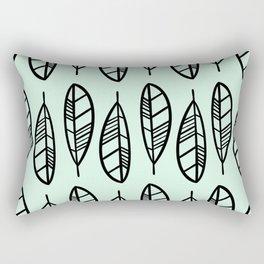 Modern feather pattern Rectangular Pillow