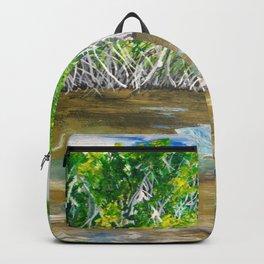 Florida Mangrove Tea Water in the Everglades Backpack