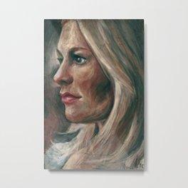Sookie in Profile  Metal Print