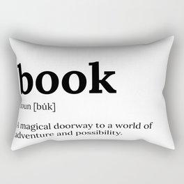 book definition Rectangular Pillow
