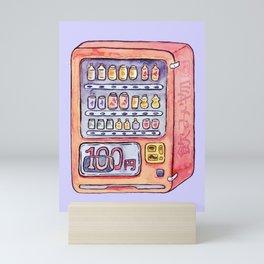 Cold Drinks Mini Art Print