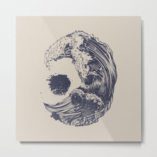 Swell Metal Print