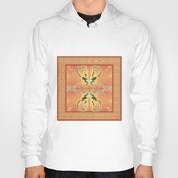 ashton irwin Hoodies featuring Syphilis Tapestry by Alhan Irwin by Microbioart
