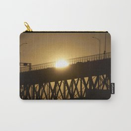 Sunshine on bridge of Montreal Carry-All Pouch