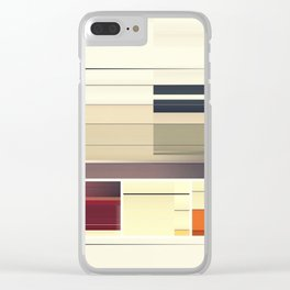 SS/lines17 Clear iPhone Case