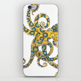 Blue Ringed Octopus dance iPhone Skin