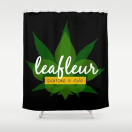 Leafleur Magazine : Partake in Style Shower Curtain