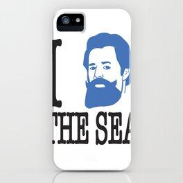 I __ The Sea iPhone Case