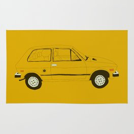 Yugo — The Worst Car in History Rug