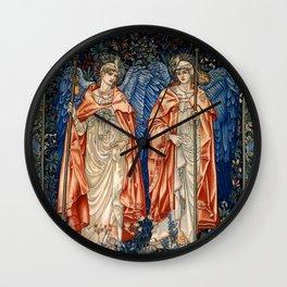 """John Henry Dearle """"Angeli Ministrantes"""" Wall Clock"""