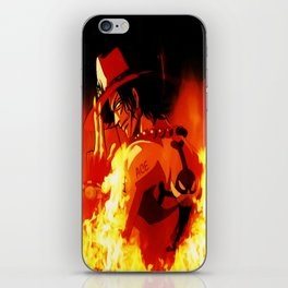 Portgas D. Ace iPhone Skin