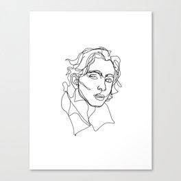 Timothée Chalamet Canvas Print
