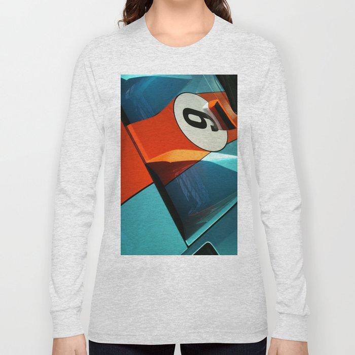 Car Numero 6 Long Sleeve T-shirt