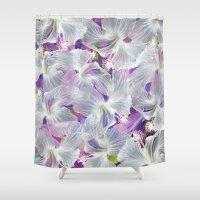 arnold Shower Curtains featuring Waltz by Klara Acel