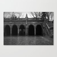 central park Canvas Prints featuring central park by Angel Photography NYC (Nicole Coletti)