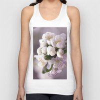 cherry blossom Tank Tops featuring Cherry blossom by LoRo  Art & Pictures