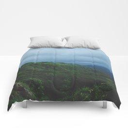 Maui Green Comforters