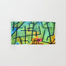 Paul Klee Conquest of the Mountain Hand & Bath Towel