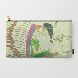 Peter Pan and Tiger Lily Carry-All Pouch