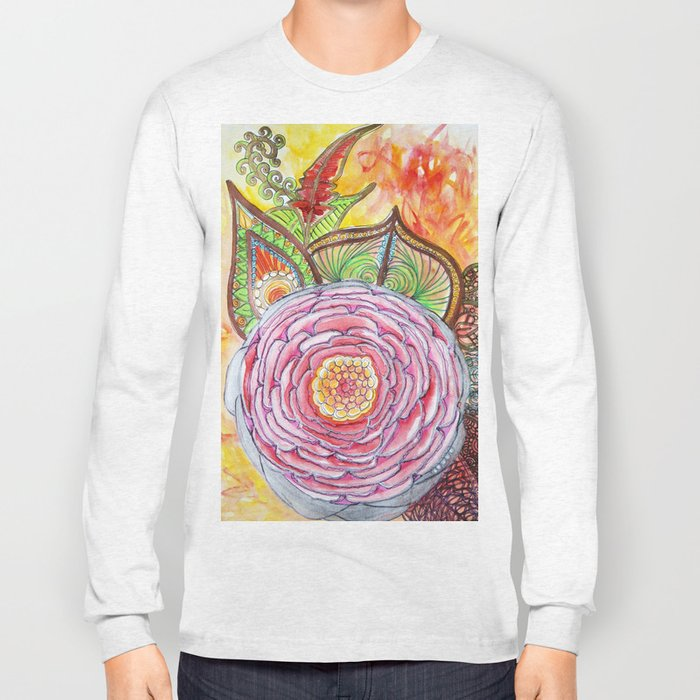 Rose ancestrale Long Sleeve T-shirt
