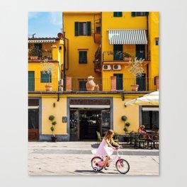 Summer Bike Ride Canvas Print