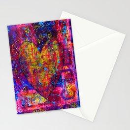 heARTFUL 1 - Mixed Media Art Stationery Cards