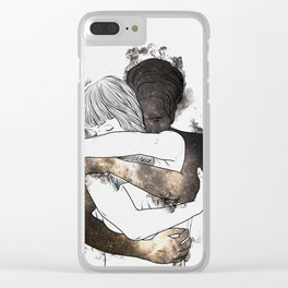 I would keep you forever (GOLD). Clear iPhone Case