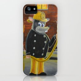 The Fire Rat iPhone Case