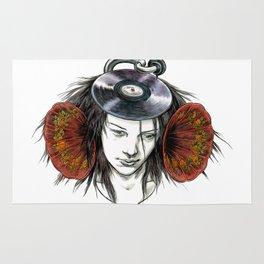 Record Head Rug