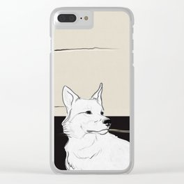 Lost Dog Clear iPhone Case