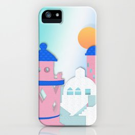 Rose Tinted View iPhone Case