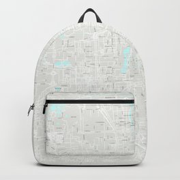 Beijing Grey Map Backpack