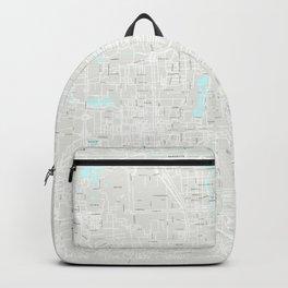 Beijing Grey Map Backpack