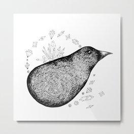 Lump bird Metal Print