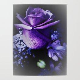 Sweet Beginnings In Purple Rose Poster