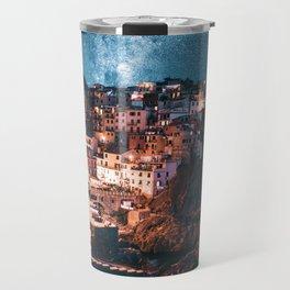 manarola at night Travel Mug