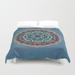 Round Colorful Design Duvet Cover