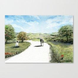 Path II Canvas Print