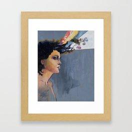 Evangeline Iris Framed Art Print