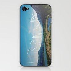 Let's Run Away: Columbia Gorge, Oregon iPhone & iPod Skin