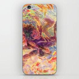 BNHA: Uraraka Ochaco + Midoriya iPhone Skin