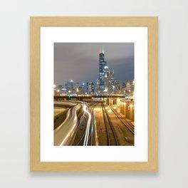Chicago Electric  Framed Art Print