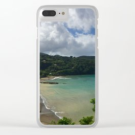 St. Lucia Clear iPhone Case