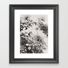 Soft flowers Framed Art Print