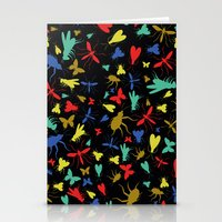 insects Stationery Cards featuring Insects by Nabaa Baqir